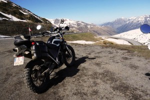 Pyrenees by motorbike