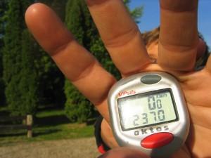 Traversée de l'Europe en VTT, Hongrie. Day record 237km