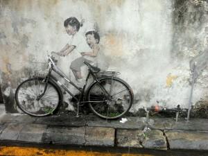 Street Art, Penang, Malaisie