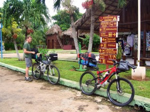 Playa Larga, Cuba by bike