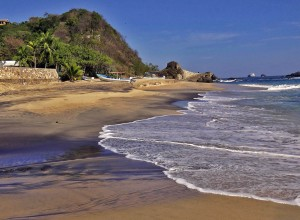 Mexico, Playa de Mazunte, Puerto Angel, Oaxaca