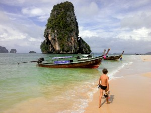 Railay Beach, Ao Nang, Thailande